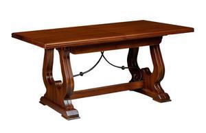 Tavolo legno massello in noce posot class for Tavolo legno noce nazionale