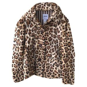 giacca corta leopardata
