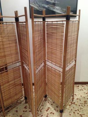 separatori divisori ambienti in bambù