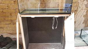 Vasca per acquario o sump posot class for Tartarughiera in plexiglass