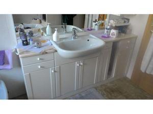 Top bagno bianco posot class - Bagno marmo bianco ...