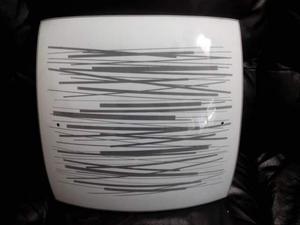 Plafoniera Quadrata Vetro : I mosaicopl plafoniera quadrata con vetro posot class