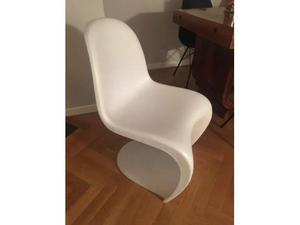 Vendo panton vitra chair design bianca 🥇   Posot Class