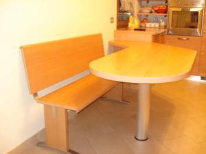 Cucina scavolini con panca e tavolo posot class - Tavolo a penisola ...