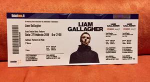 1 biglietto concerto Liam Gallagher Padova Parterre