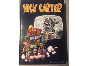 Albo fumetto cartonato di Nick Carter