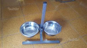 Ciotole per cane con supporto