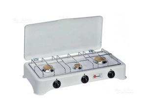 Fornello da cucina 3 fuochi fargas posot class for Fornello elettrico ikea