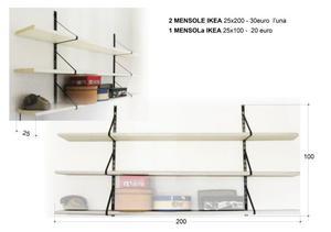 Vendo mensole da muro ikea posot class for Ikea mensole da muro