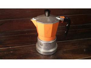 C110 caffettiera ben tenuta riuso Top Moka 1tz alluminio