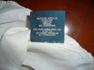 Camicia bianca 5 anni Ralph Lauren di lino