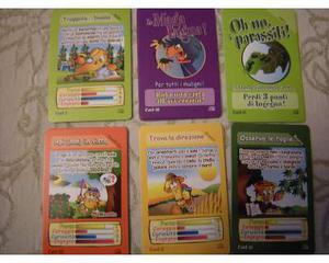 """Card """"gli amici del mulino"""" 6 differenti"""