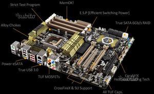 PC Asus Intel xeon 3.2 GHz, 12 gb ddr3, hd 1 Tb