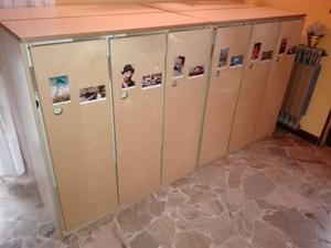 Staccionate in legno divisorio asilo nido posot class for Arredamento asilo nido usato