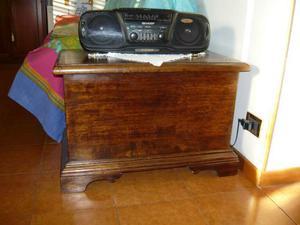 Cassapanca in legno di pioppo