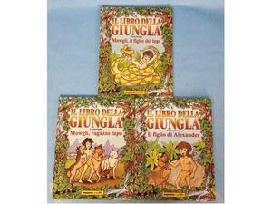 Il libro della giungla 3 volumi