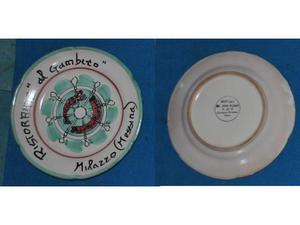 Piatto del buon ricordo ristorante il gambero Milazzo