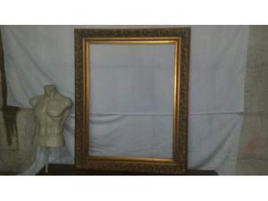 Specchiera cornice in legno usata