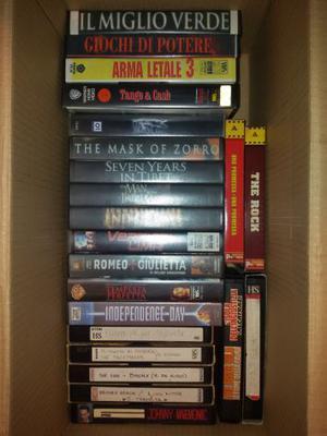 Videocassette vhs film anni