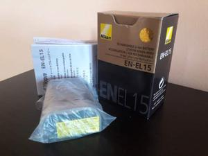 Batteria Nikon EN-EL15 D500 D610 D750 D800E D D