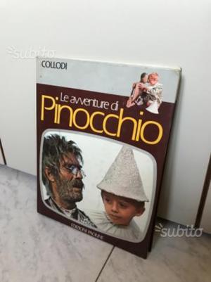 """Libro """"LE AVVENTURE DI PINOCCHIO"""" vintage"""
