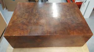 Tavolino da salotto in radica