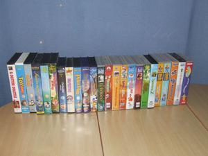 Videocassette originali cartoni disney posot class