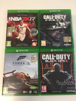 4 giochi Xbox one