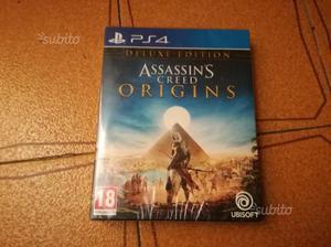 Assassin's cred origins edizione deluxe chiuso