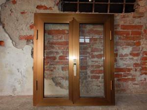 Finestre in alluminio doppi vetri e vasistas posot class - Doppi vetri per finestre ...
