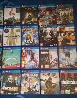 Giochi Playstation 4 Ps 4 Pro Titoli recenti