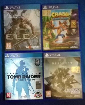 Giochi Playstation 4 ps4 ps4 pro Ultimi Titoli