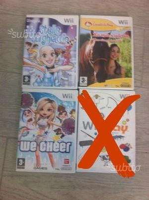Giochi e accessori Nintendo Wii