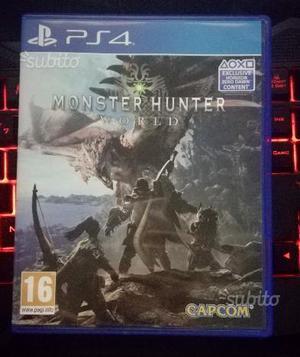 Giocho Playstation 4 ps pro Monster Hunter World