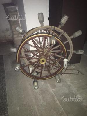 Vecchi cerchi di carri posot class for Guerra lampadari