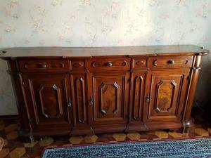 Madia in legno antico colore noce chiaro