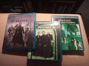 Matrix trilogia blu ray