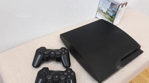 PS3 + 2 joystick + 5 giochi