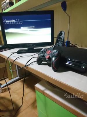PS3 Slim 120GB + Joystick + giochi