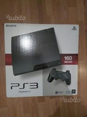 PS3 slim 160 gb scatola