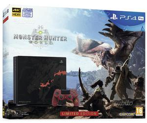 PS4 Pro 1TB Limited Edition Monster Hunter World