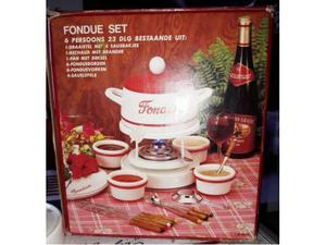 Set fonduta bourguignonne 23 pezzi per 6 persone