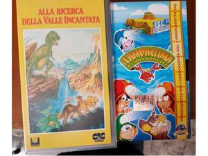 Videocassette cartoni animati