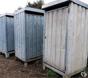 Box usato da cantiere edile in lamiera ct posot class - Bagni chimici da cantiere prezzi ...