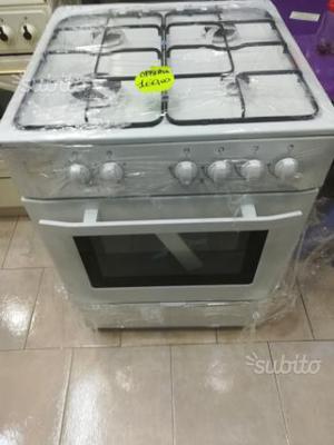 Cucina finlux 4 fuochi con forno a gas ed elettric