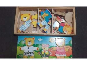 Orsetti puzzle gioco educativo
