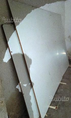 Pannelli in truciolare laminato bianco