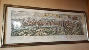 Stampa Roma antica completa di cornice