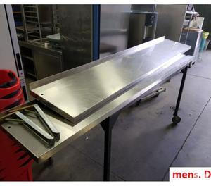 Mensola in acciaio inox posot class - Mensole acciaio per cucina ...