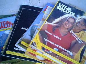 Lotto/Stock 15 numeri di Vita e Salute anni 80 co